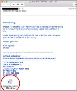 MailGuard_Microsoft_Proforma_Invoice_Email_Scam
