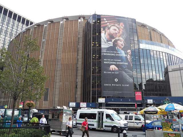 Madison Square Garden: Madison Square Garden Concessions Hacked For A Year